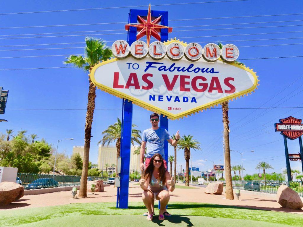 Spot du signe de Las Vegas