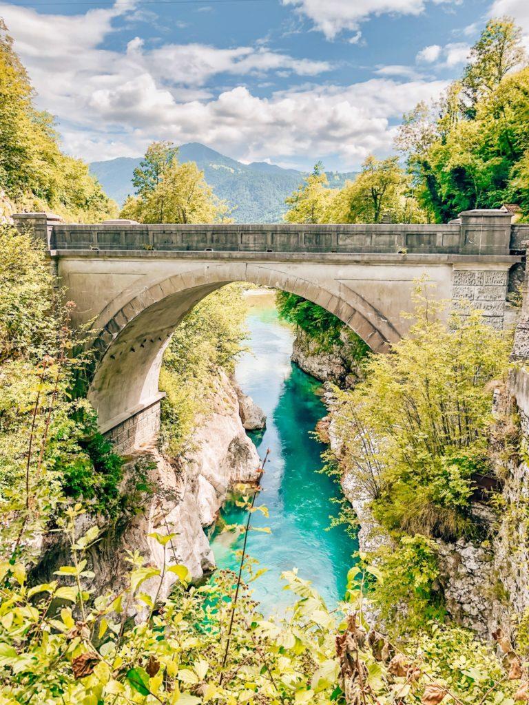 Le Pont Napoléon en Slovénie